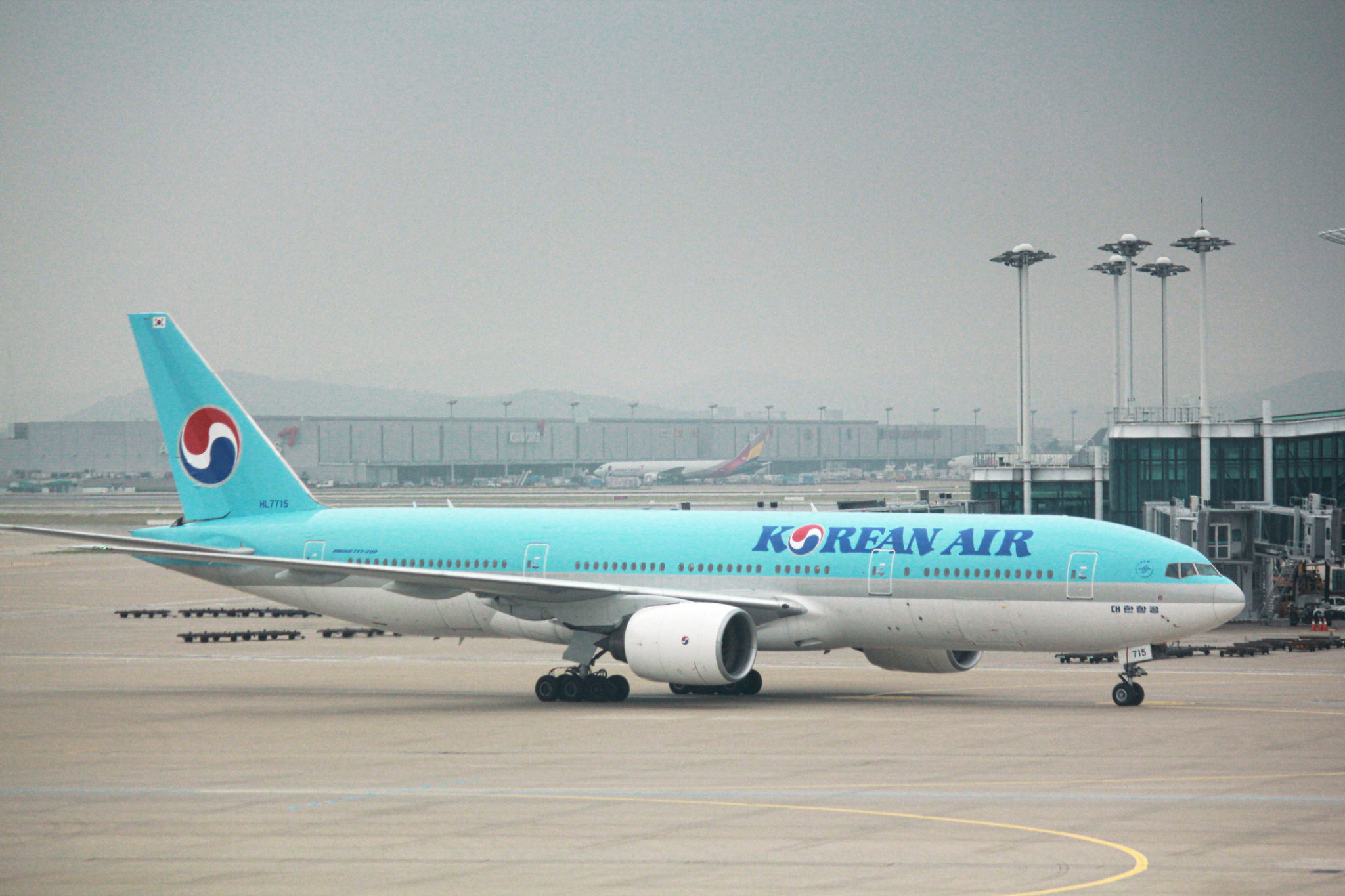Korean Air Pilots Go on Unpaid Leave to Save Airline